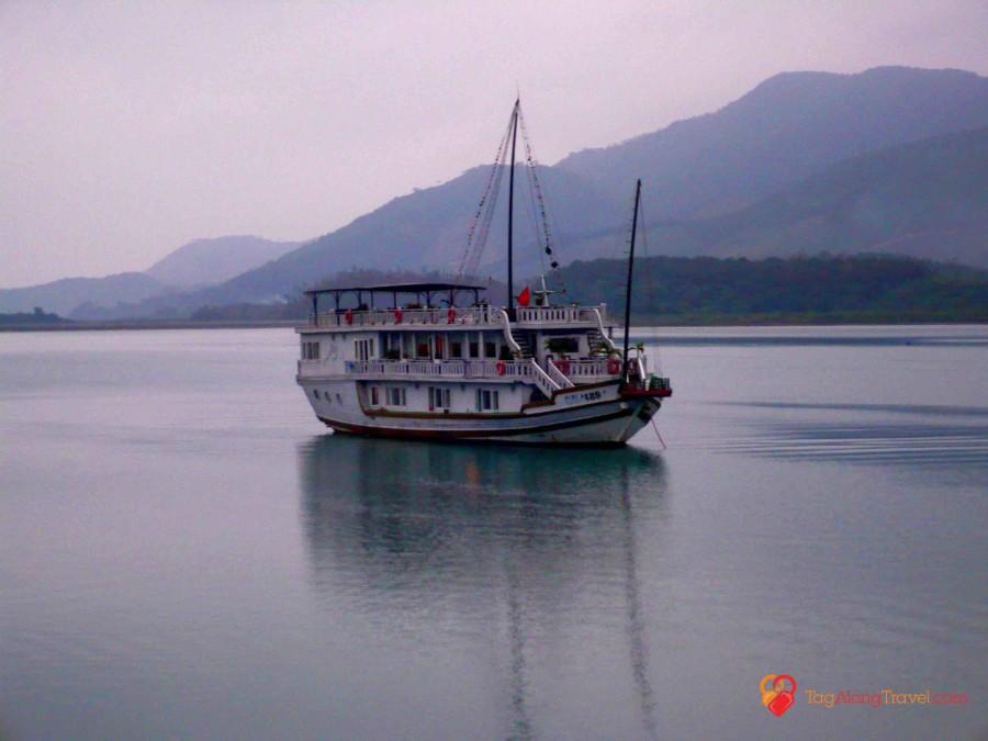 Touring Vietnam via junk, kayak, and bike