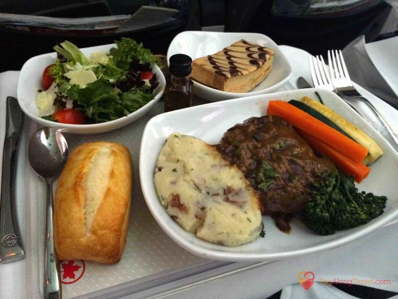 Reviews Food On International Flights