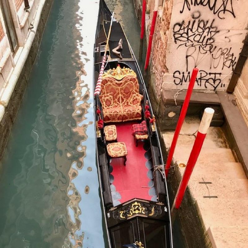 Noticed in Venice-Gondola